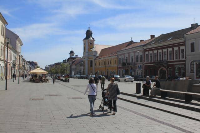 Bulevardul Eroilor din Cluj Napoca